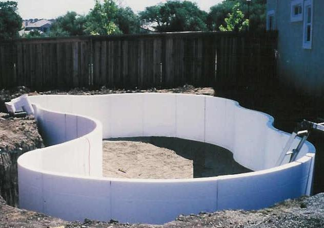 Diy Concrete Block Swimming Pool Construction Diy Do It Your Self